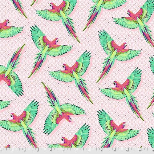 Macaw Ya Later - Dragonfruit - PWTP170 - Tula Pink
