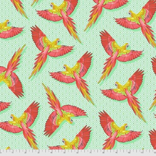 Macaw Ya Later - Mango - PWTP170 - Tula Pink