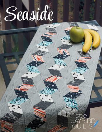 Seaside Table Runner - patroon - Jaybird Quilts