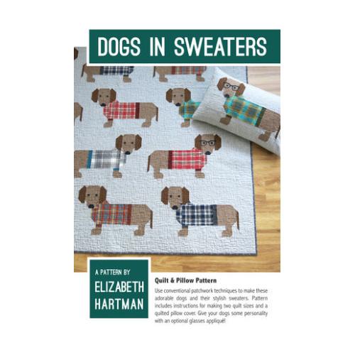 Dogs in Sweaters - pattern - Elizabeth Hartman