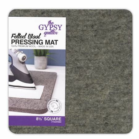 Wool Pressing Mat  -  8,5  vierkant - the Gypsy Quilter