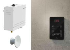 Stoomtechniek/-generator inclusief Pure bediening en stoomuitlaat
