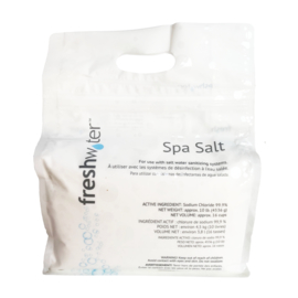 FreshWater spa salt