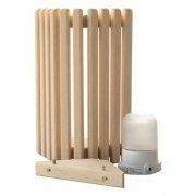 Sauna wand of hoeklamp PRO compleet