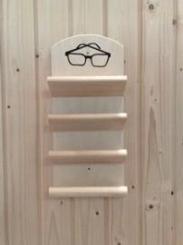 Brillenhouder sauna - 4 brillen