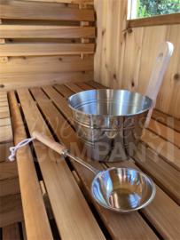 Professionele sauna emmer - 4 liter
