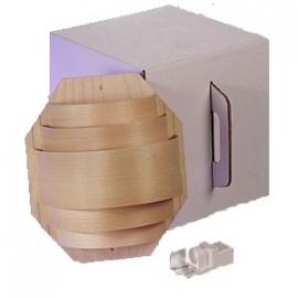 Saunalamp wandmodel groot met fitting
