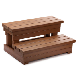HotSpring Everwood Teak Step