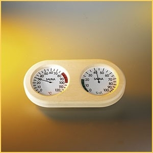 Thermo-/hygrometer de luxe