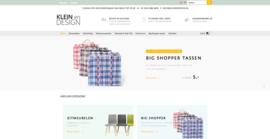 Klein en Design