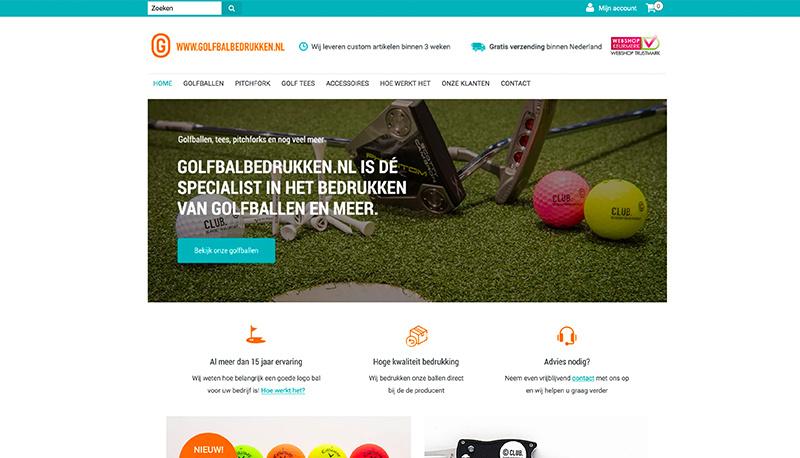 Golfbalbedrukken