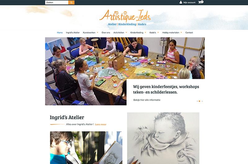 Artistique-webshop