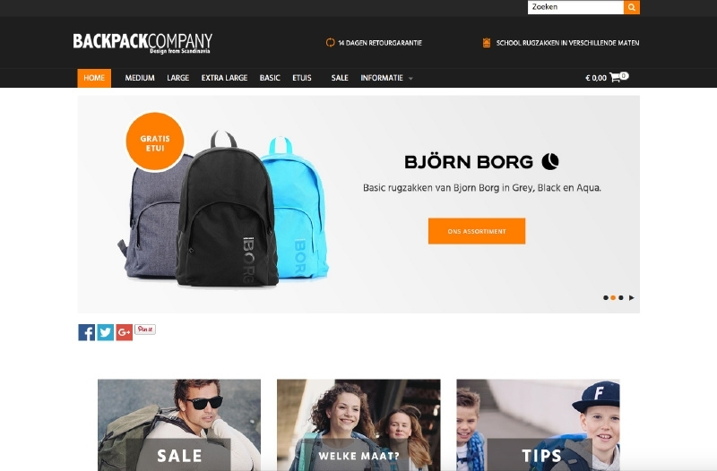 Backpack Company