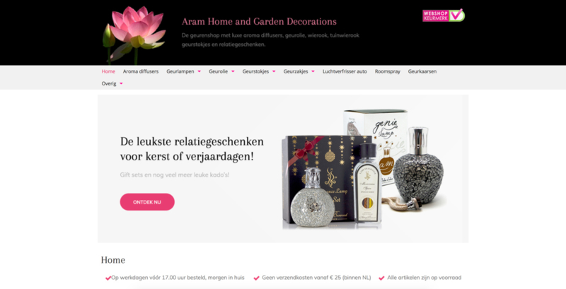 aram home & garden decoration