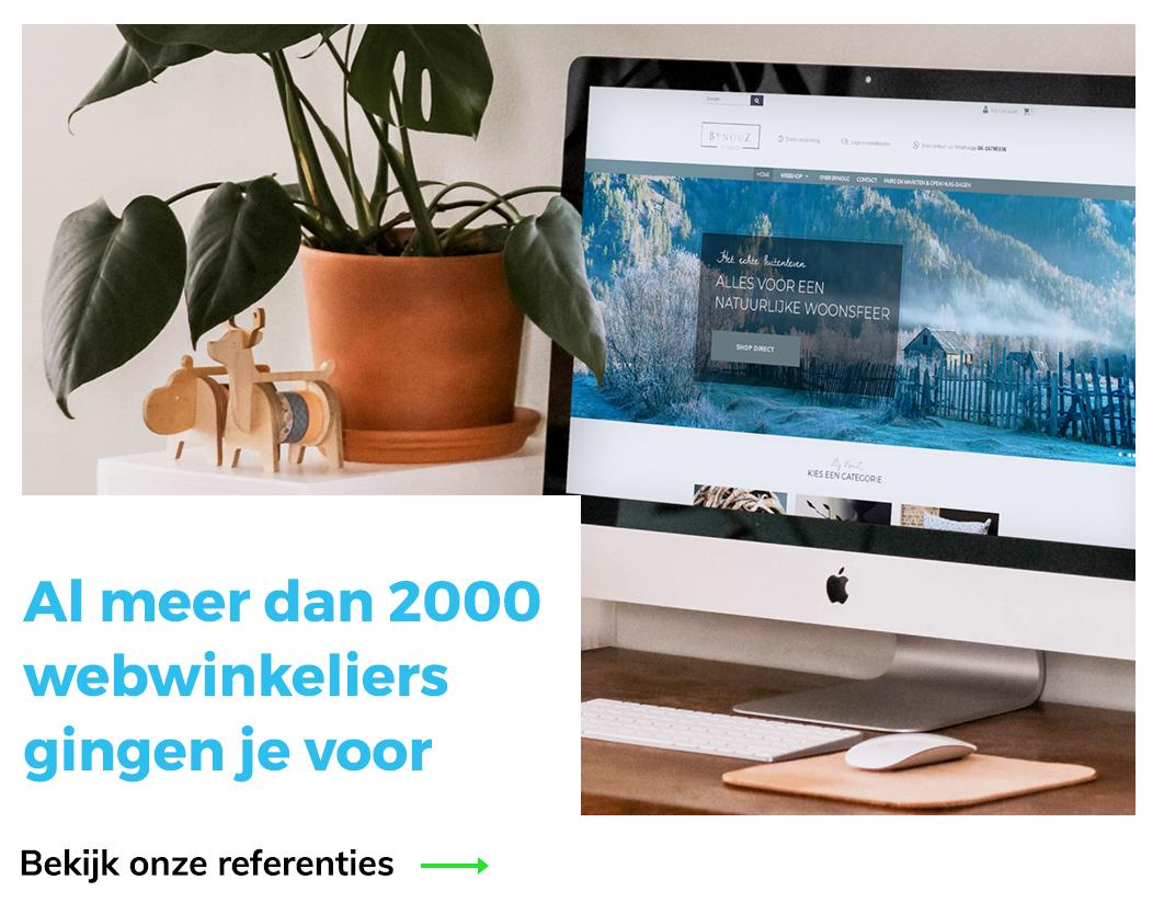 Mijnwebwinkel & Shopify partner - al meer dan 1500 tevreden mensen