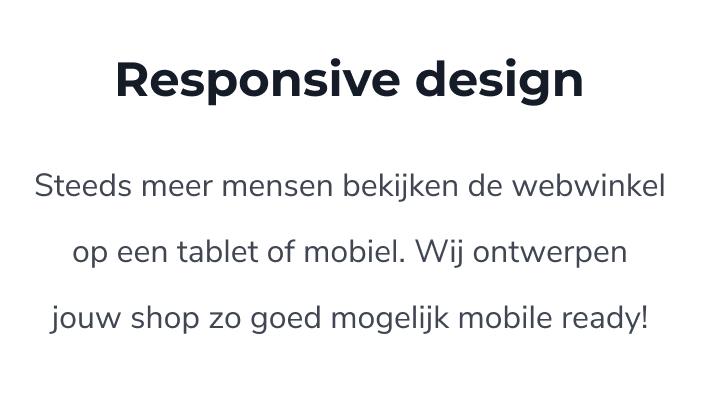 Ontwerp mijn webwinkel maakt unieke ontwerpen