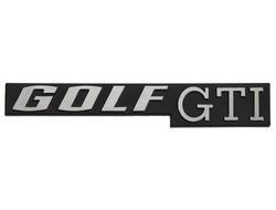 embleem golf 1 gti