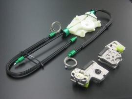 Reparatieset raammechanisme golf 4 met kabel 2/3 deurs en 4/5 deurs
