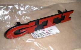 GTI embleem rood 20 jahre edition