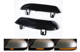 Set dynamische knipperlichten golf 5 zwart