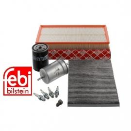 Filterpakket golf4/ bora 1.6 (niet 16v)en 1.8 ook 1.8 T alleen 150 pk FEBI