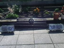 Rallye grill compleet met slotplaat