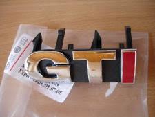 GTI embleem polo 6N2 Nieuw