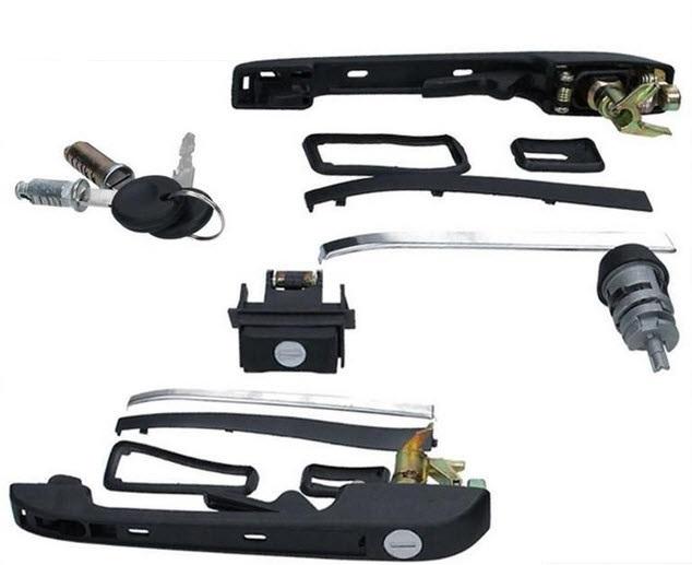 Golf 2 sloten set compleet met sleutels slotenset