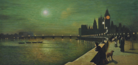 Grimshaw reproductie, Reflections on the Thames Verkocht!