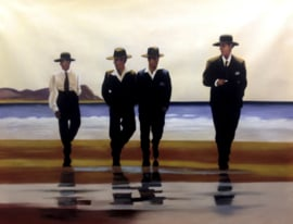 Vettriano reproductie, The Billy Boys Verkocht!
