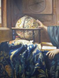 Vermeer reproductie, De Astronoom Verkocht!