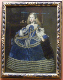 Infanta Margarita Teresa in Blue Dress