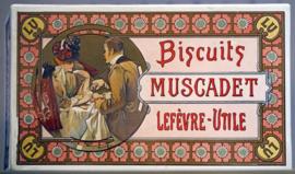 Décors pour des boites de biscuits LU