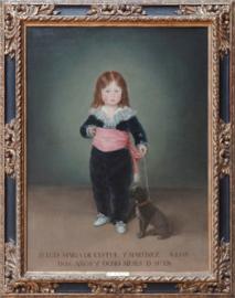 Portrait de Luis Maria de Cistué y Martinez