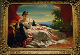 Portret van prinses Leonilla van Sayn-Wittgenstein-Sayn