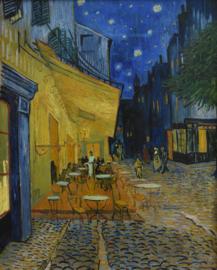 Caféterras bij Nacht