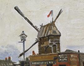 van Gogh reproductie Moulin de la Galette Verkocht!