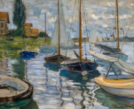 Sailboats on the Seine at Petit-Gennevilliers