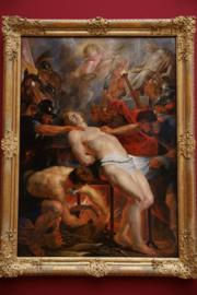 Das Martyrium des Hl Laurentius