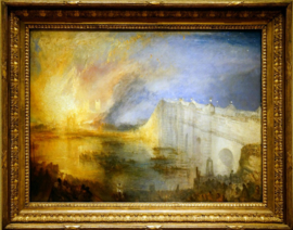 The Burning of the Houses of Parliament October 16 1834