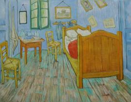 van Gogh reproductie,  De Slaapkamer Verkocht!