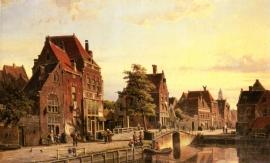 Koekkoek, Straten van Amsterdam
