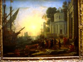 Le Débarquement de Cléopatre a Tarse