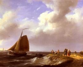 Koekkoek, Een frisse wind voor de nederlandse kust
