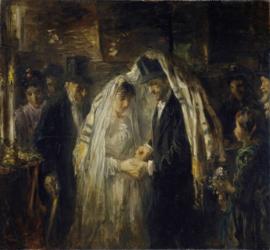 Joodse bruiloft