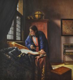Vermeer reproductie, De geograaf Verkocht!