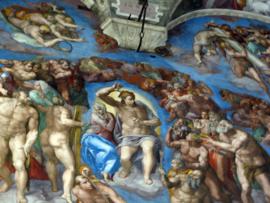Het laatste Oordeel - Sixtijnse kapel - Vaticaan