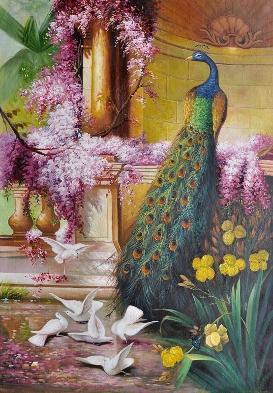 Vogel 41 reproductie, formaat 60 x 90 cm Verkocht!