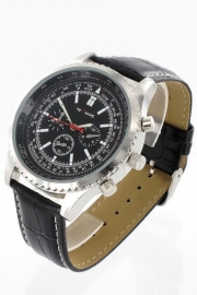 Heren Horloge! + Gratis extra batterij!
