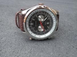 Heren Horloge - Extra batterij - jaar garantie!